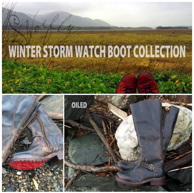 Winter Storm Watch Boot Collection at Shoefly Alaska