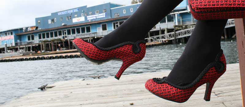 Red shoes are always amazing at Shoefly Alaska!